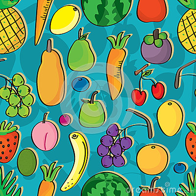 Fruits Seamless Pattern_eps