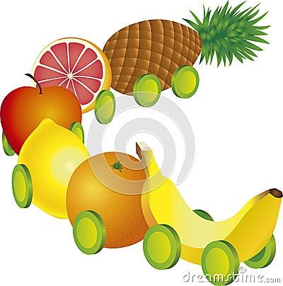 Fruits train