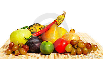 Fruits and vegetables - still life