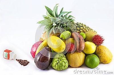Fruits versus multivitamins