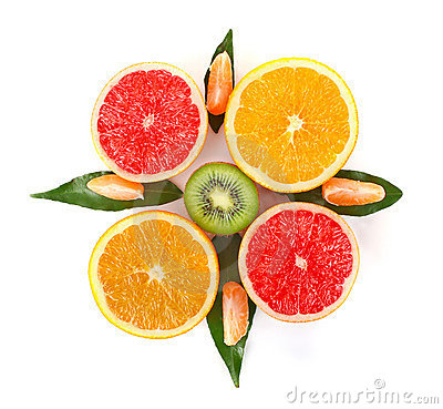 Free Fruity Compass Stock Image - 22411291