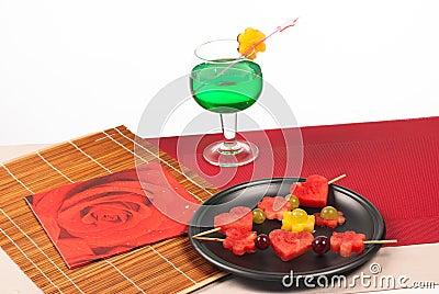 Fruity dessert
