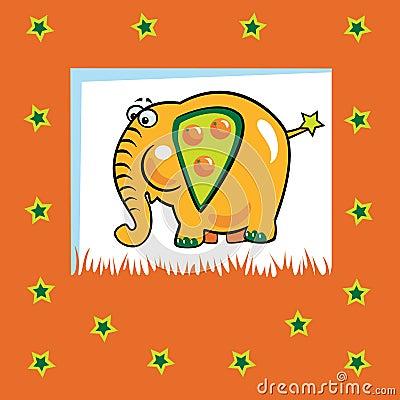 Fruity elephant