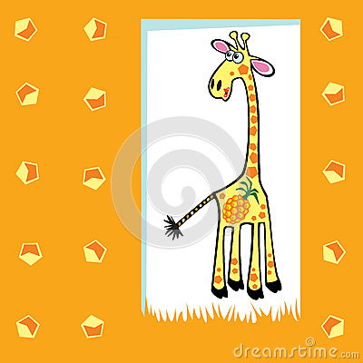 Fruity giraffe