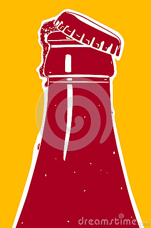 Fruity Ice Beer Stock Illustration - Image: 62838930