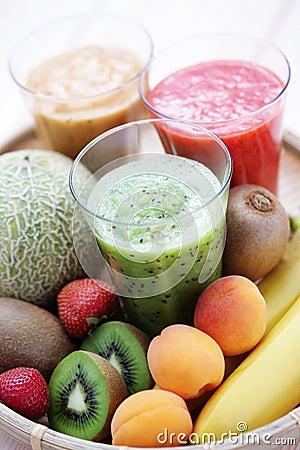 Free Fruity Shake Stock Photo - 25612440