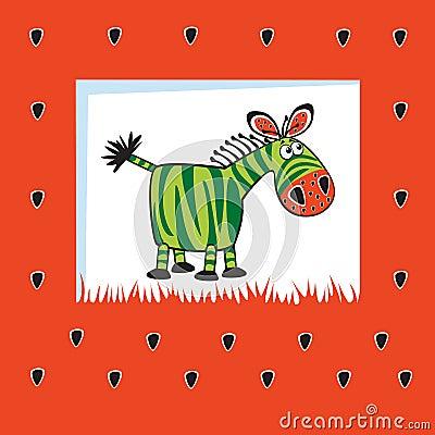 Fruity zebra