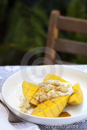 Frukostera mango