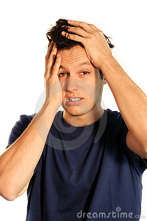 Free Frustrated Business Man Stock Photo - 3197600