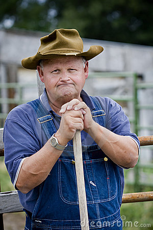 Free Frustrated Farmer Stock Photos - 10394733