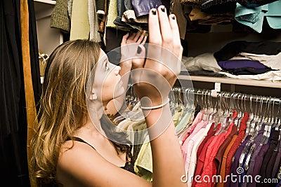 Frustrating closet space