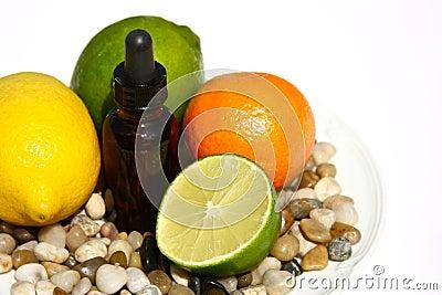 Fruta cítrica Aromatherapy