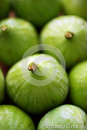 Fruta fresca de los higos