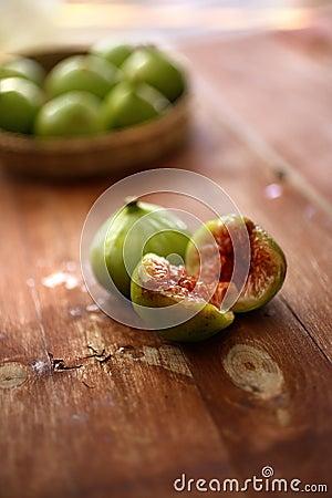 Fruta fresca dos figos