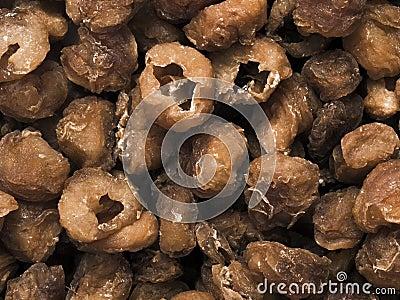 Fruta secada del longan
