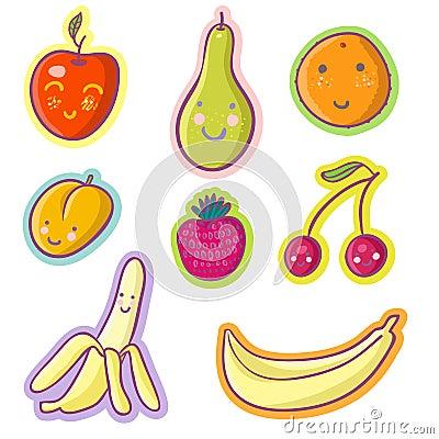 Frutas saborosos e bagas