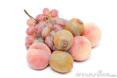 Frutas (trajeto de grampeamento)