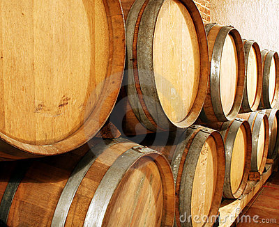 Förvara i källare wine