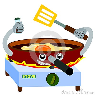 Frying pan fries