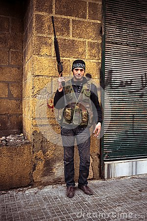 FSA fighter. Editorial Photography
