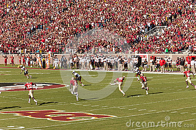 FSU Home Football Game Editorial Stock Image