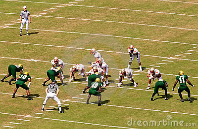 FSU vs USF Football Game Editorial Stock Photo