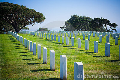 Ft. Rosecrans National Cemetary in San Diego