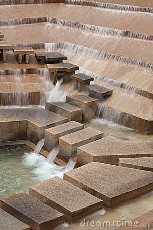 Free Ft Worth Water Gardens Royalty Free Stock Photography - 14578047