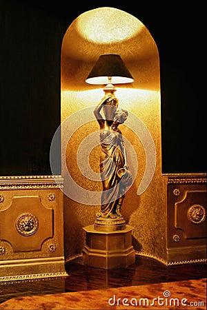 Fußbodenlampe
