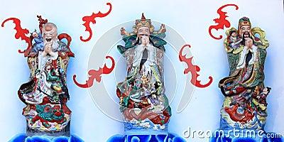 Fu Lu Shou Lucky Gods
