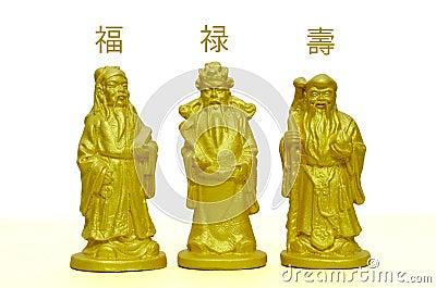 Fu Lu Shou , Three Lucky Gods of Chinese