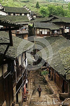 Free Fubao Folk House4 Stock Images - 1129894