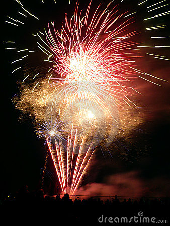 Fuegos artificiales en Barkingside