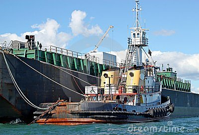 Fuel Barge and Tug