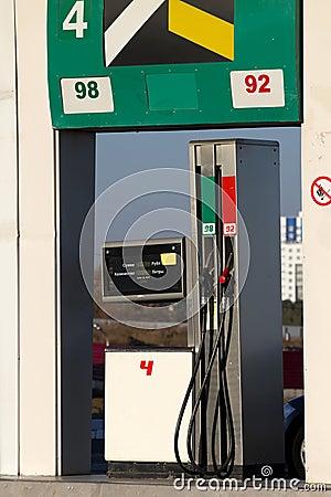 Fuel  crane  gaz  station  equipment