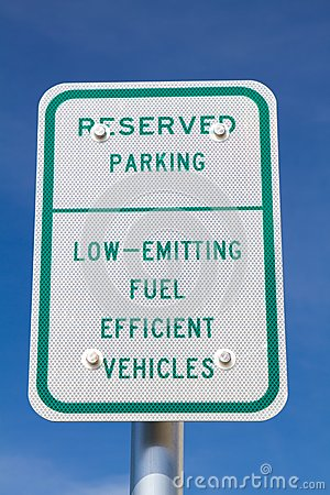Fuel Efficient Vehicles Sign