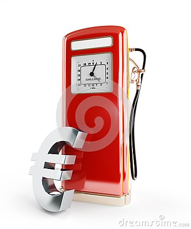 Fuel price in euro