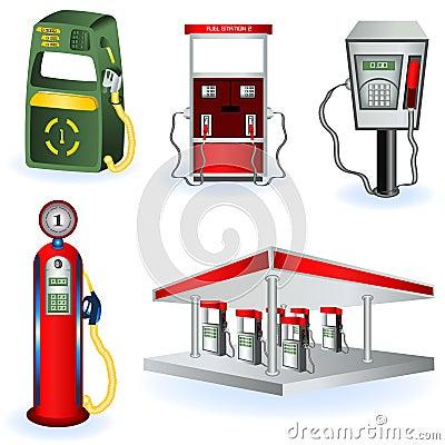 Fuel station images