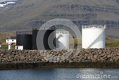 Fuel storage silos