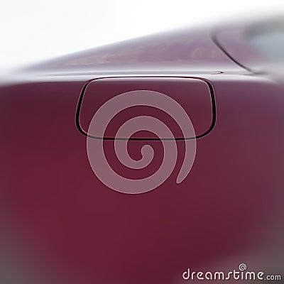 Fuel tank door