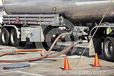 Fuel Tanker Deposits Gasoline