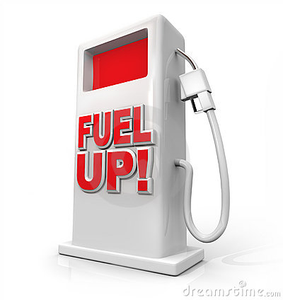 Free Fuel Up - Gasoline Pump For Refueling Royalty Free Stock Images - 17950119