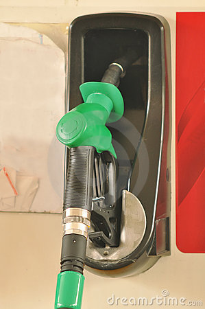 Free Fuelling Nozzle Royalty Free Stock Image - 21827896