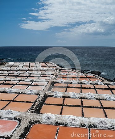 Free Fuencaliente Saltworks, La Palma, Canary Islands Stock Photography - 131797362