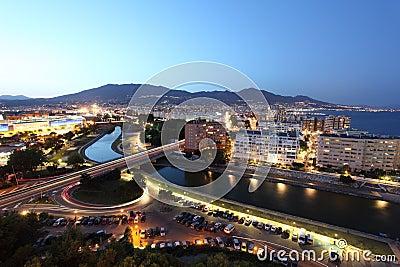 Fuengirola at night, Spain