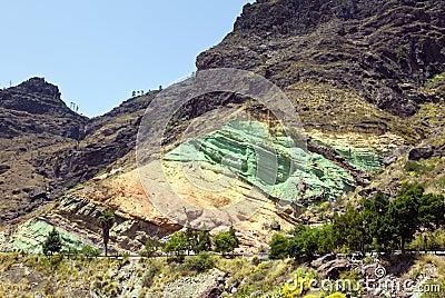 Fuente de los azulejos rots gran canaria stock fotografie - Los azulejos gran canaria ...