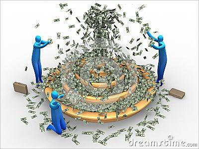 Fuente del dinero