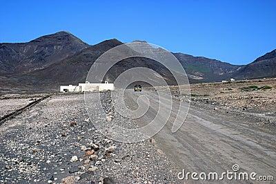 Fuertaventura landscape