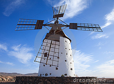 Fuerteventura, Canary Islands,windmill