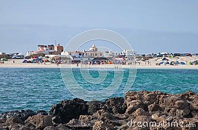 Fuerteventura, El Cotillo, Editorial Stock Photo